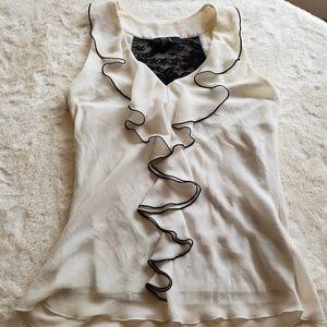 Tops - Ruffle front dress top